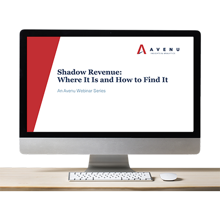 Webinar: Shadow Revenue: Where It Is and How to Find It