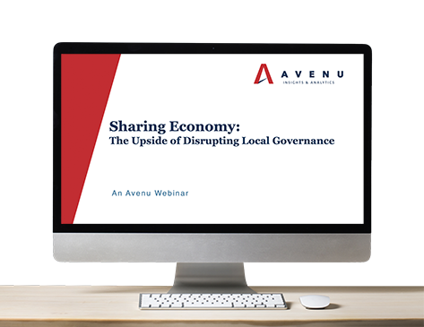 Webinar: Sharing Economy: The Upside of Disrupting Local Governance