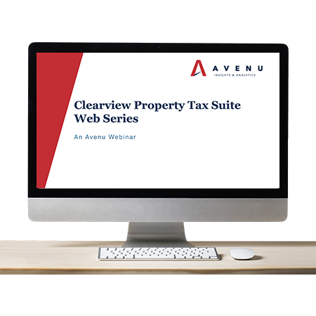 WEBINAR SERIES: New Clearview Property Tax Suite