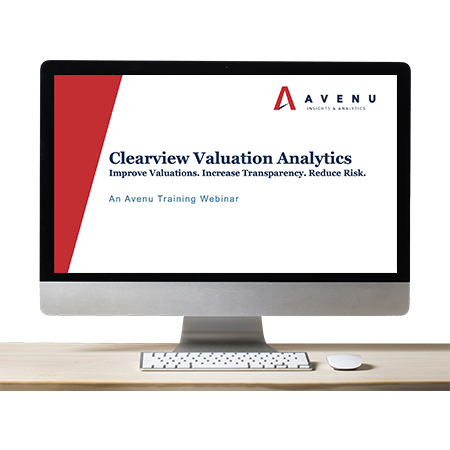 Webinar: Clearview Valuation Analytics
