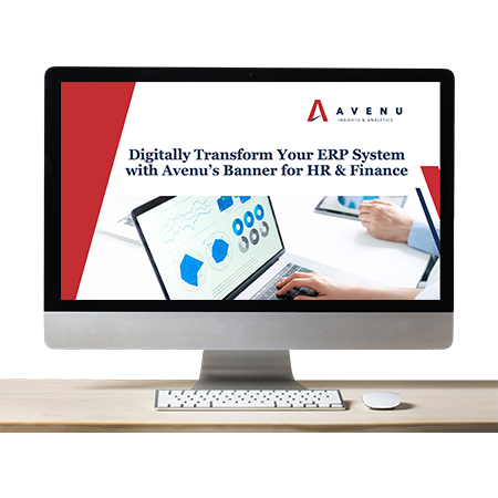 Banner Webinar: Digitally Transform Your ERP System
