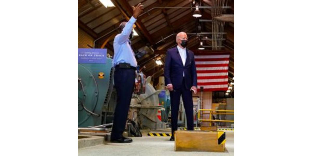 President Biden Visits Avenu's New Orleans Sewerage & Water Board Client